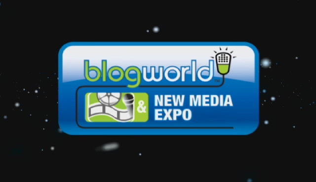 We producted Motion Graphics for Blogworld and New Media Expo