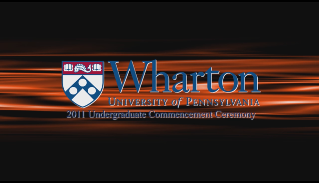 Motion Graphics for Wharton University of Pennsylvania
