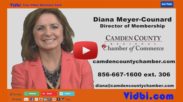 Diana Meyer-Counard - Camden County Regional Chamber of Commerce Vidbi