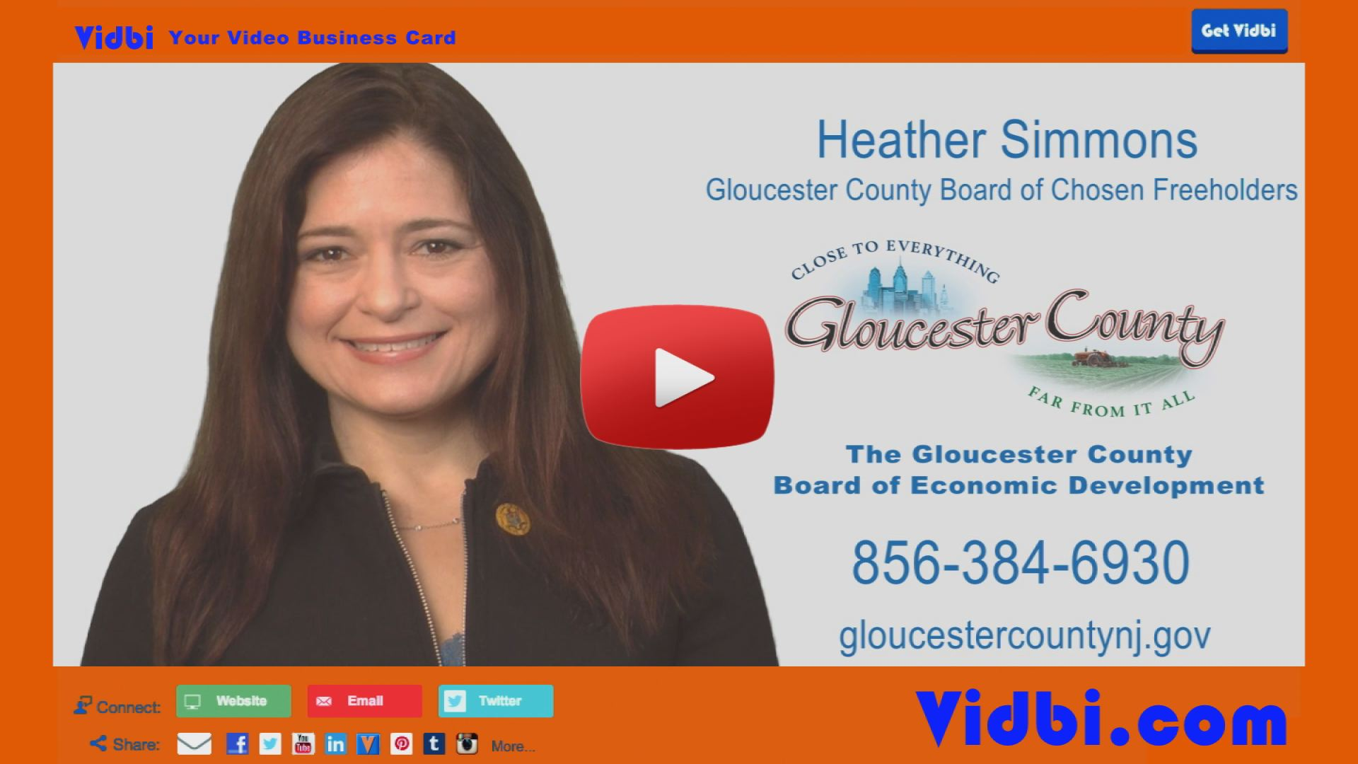 Heather Simmons - Gloucester County Board of Chosen Freeholders