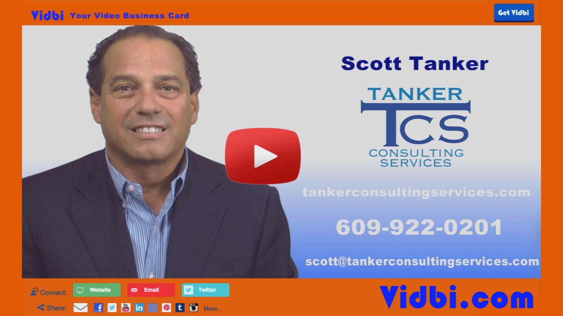 Scott Tanker - Tanker Consulting Services Vidbi
