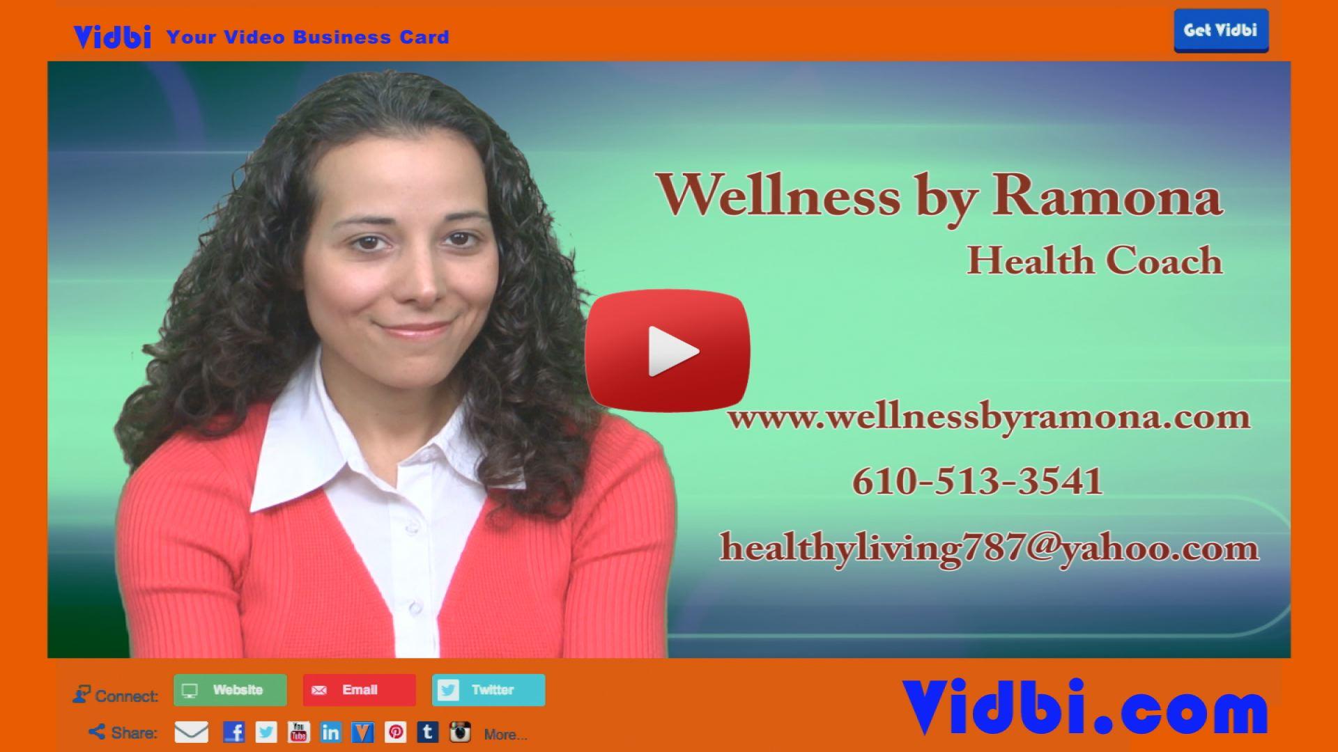 Ramona Fasula - Wellness by Ramona Vidbi