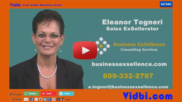 Eleanor Togneri - Business Exsellence Vidbi