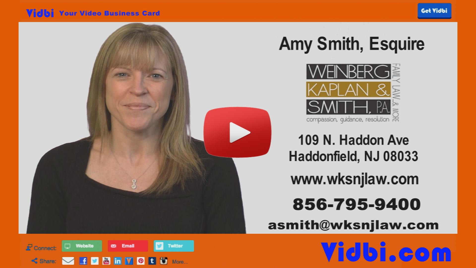 Amy Smith - Weinberg Kaplan Smith PA Vidbi