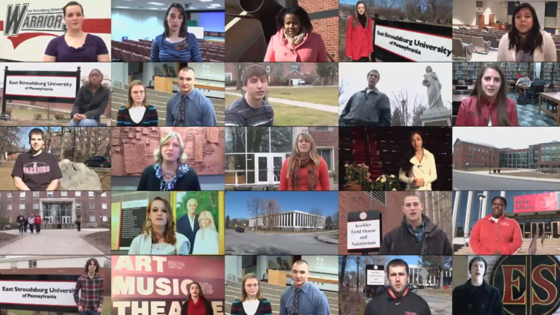East Stroudsburg University Video Production