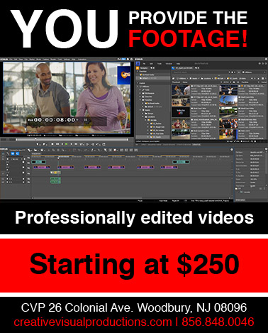 Professionally edited videos in south jersey