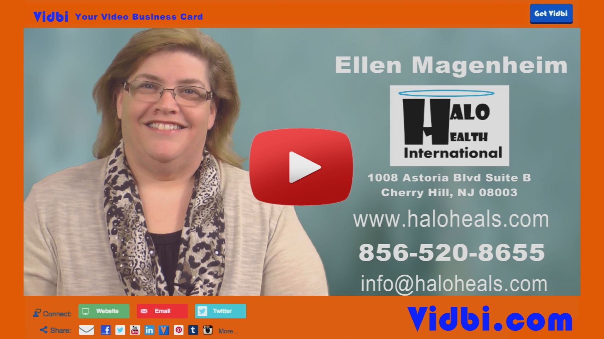Ellen Magenheim - Halo Health International Vidbi