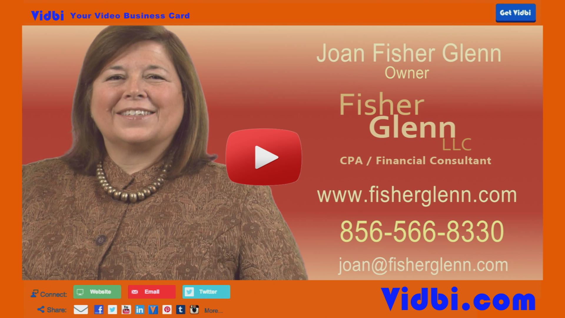 Joan Fisher Glenn - Fisher Glenn LLC Vidbi