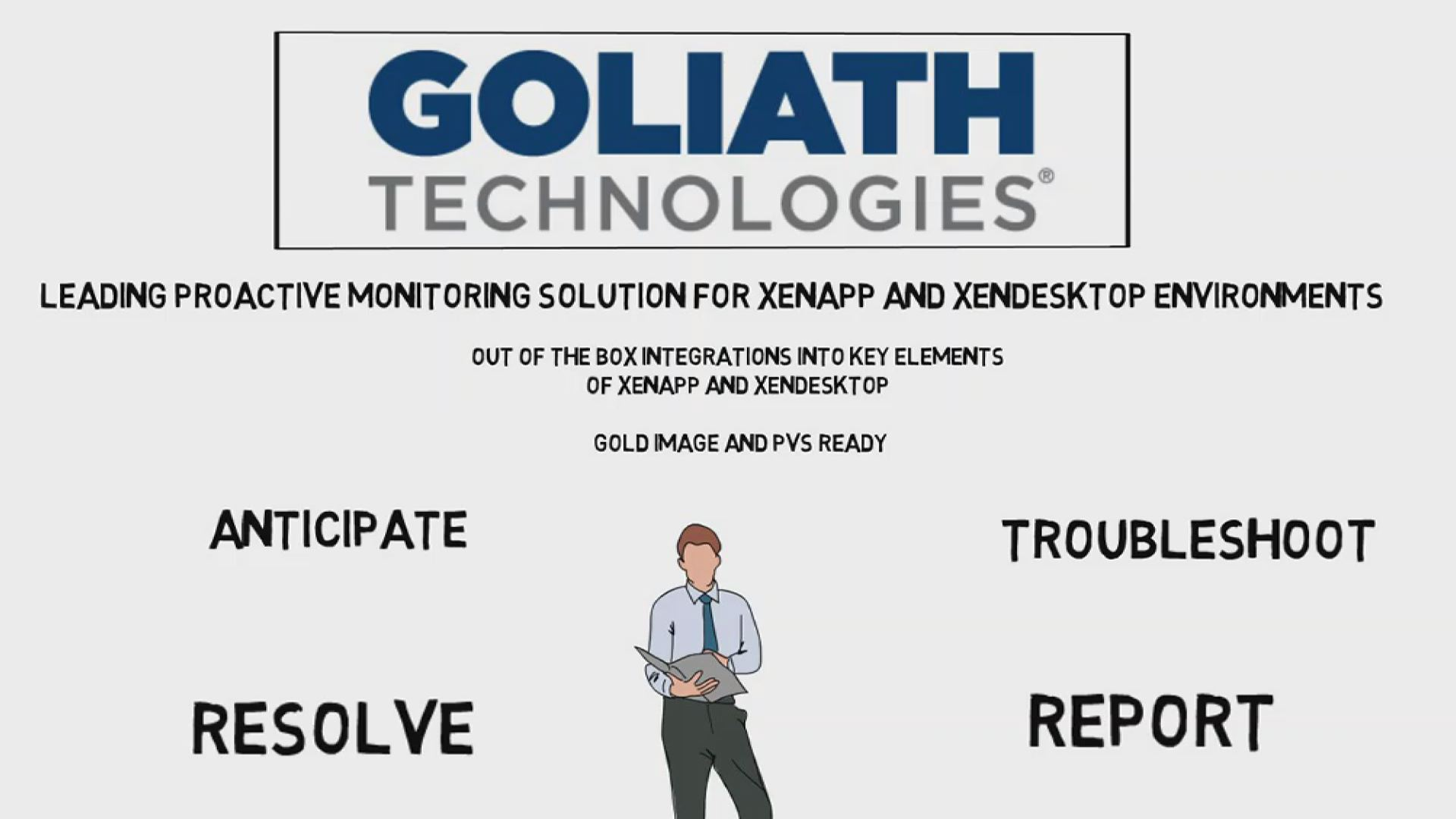 Motion Graphics for Goliath Technologies