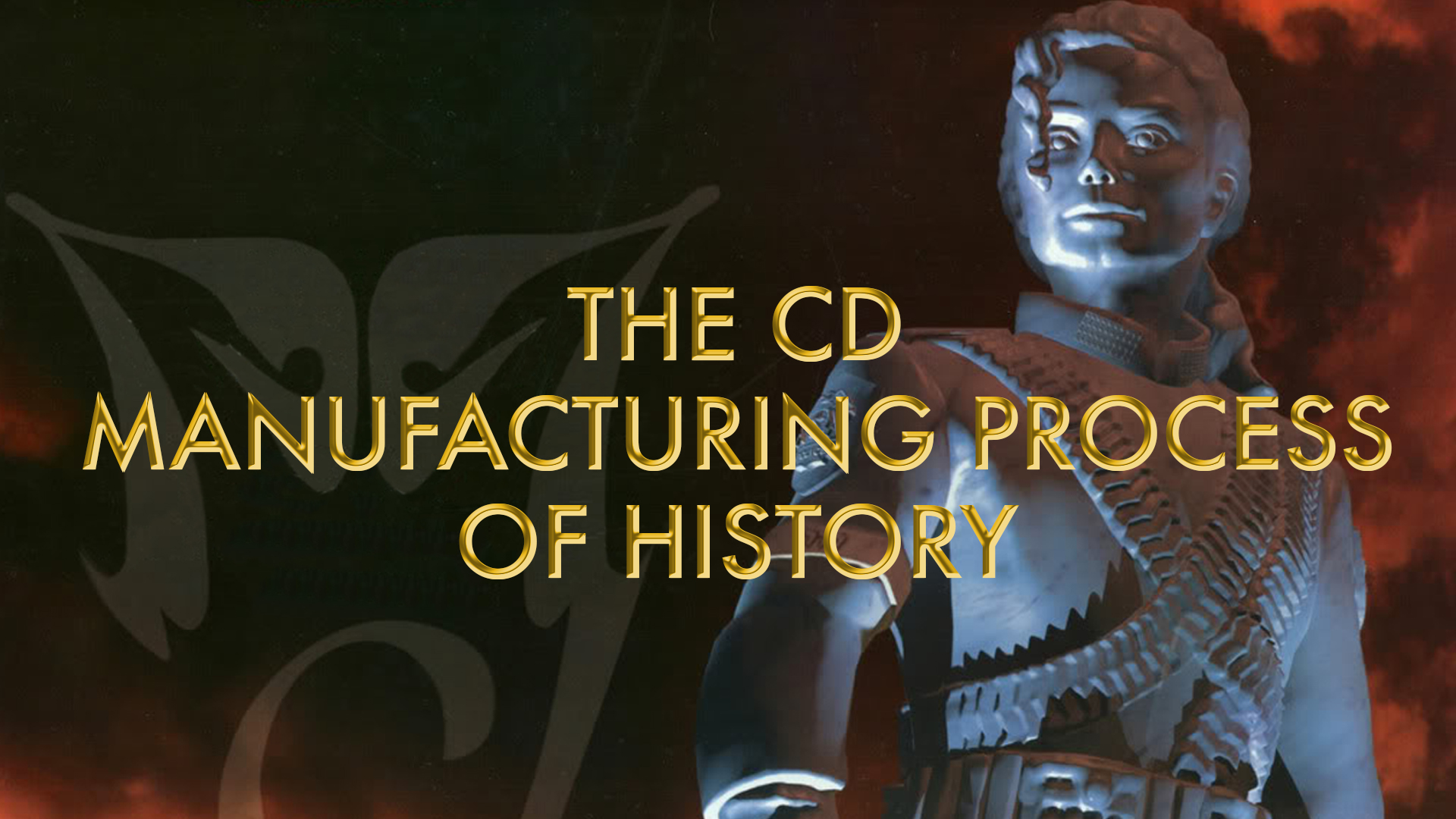 Sony Manufacturing Process Michael Jackson History Album Video Production