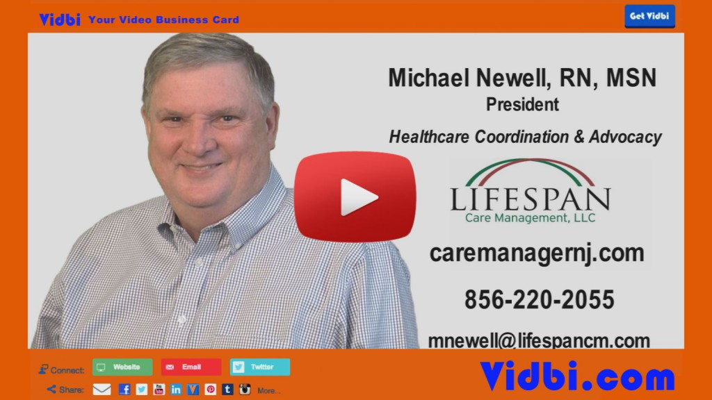 Michael Newell - Lifespan Care Management Vidbi