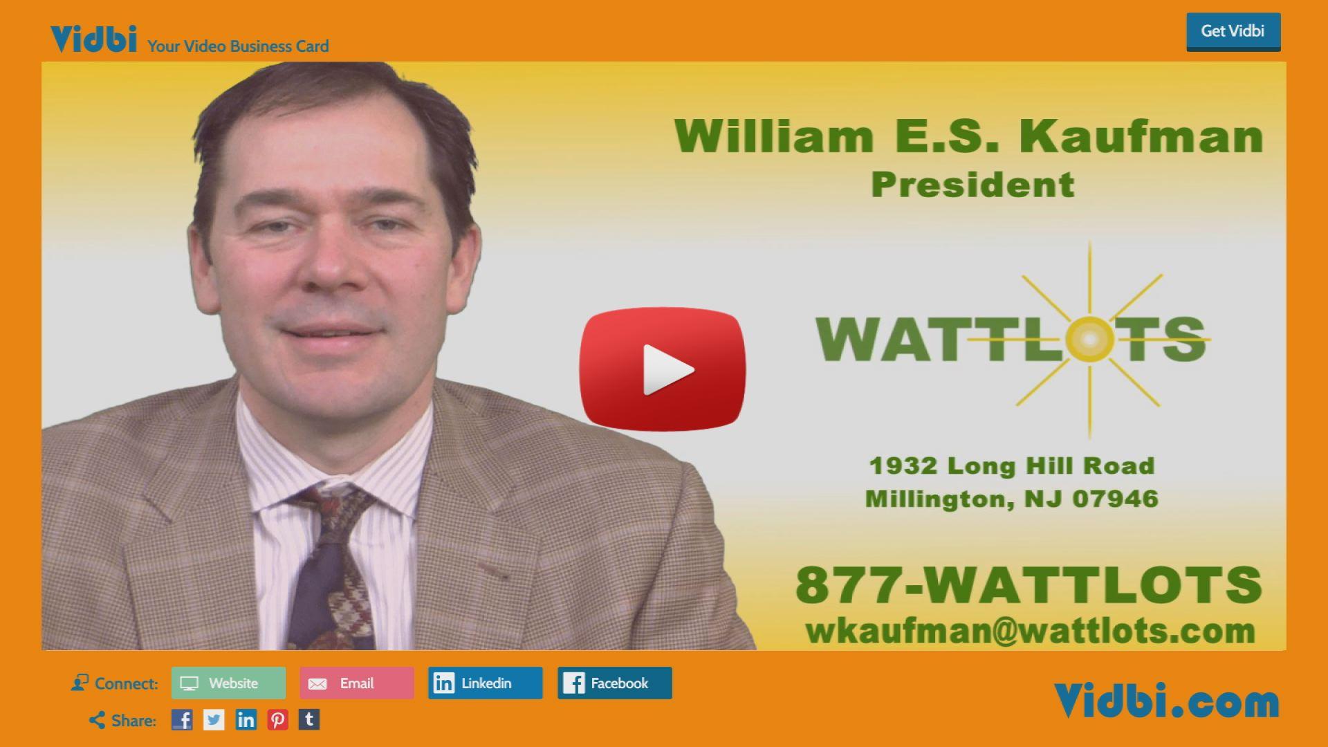 William Kaufman - Wattlots