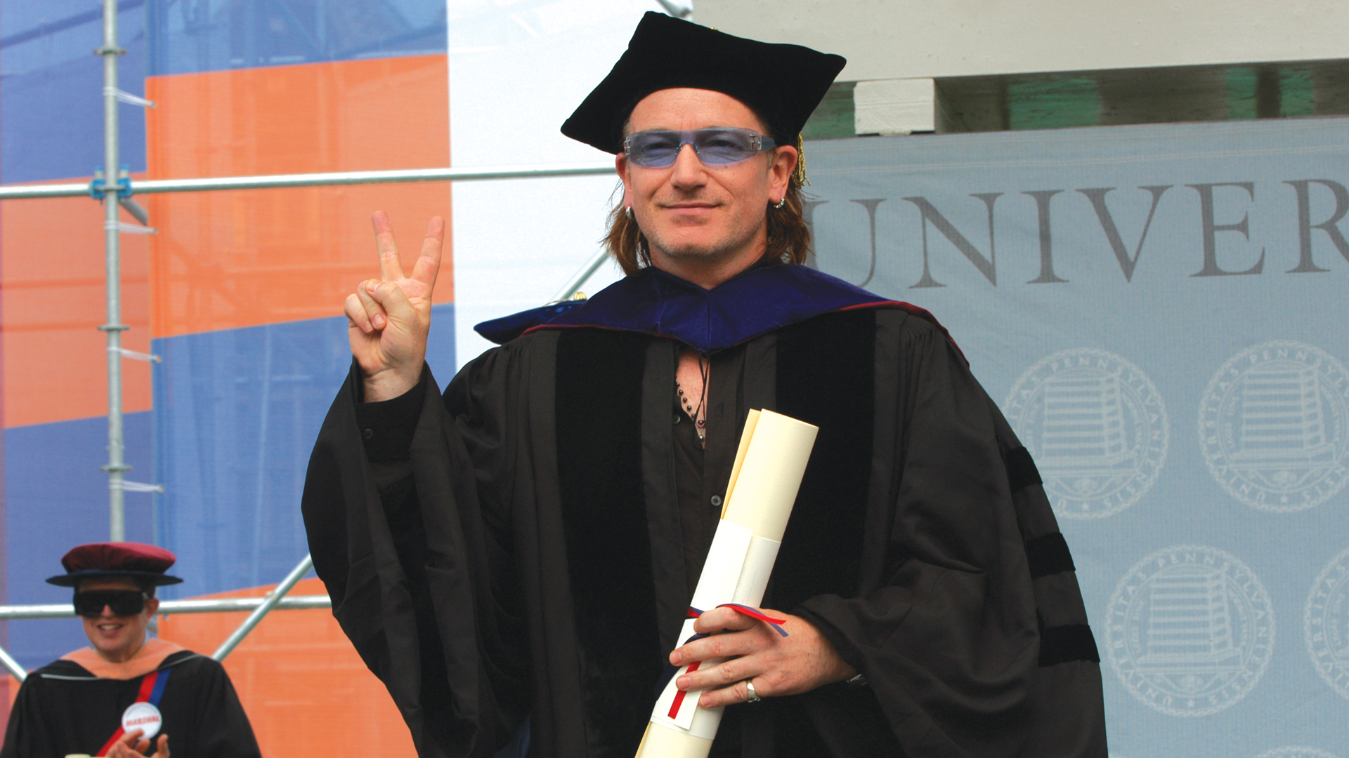 Bono Commencement Speech University of Pennsylvania Video Production