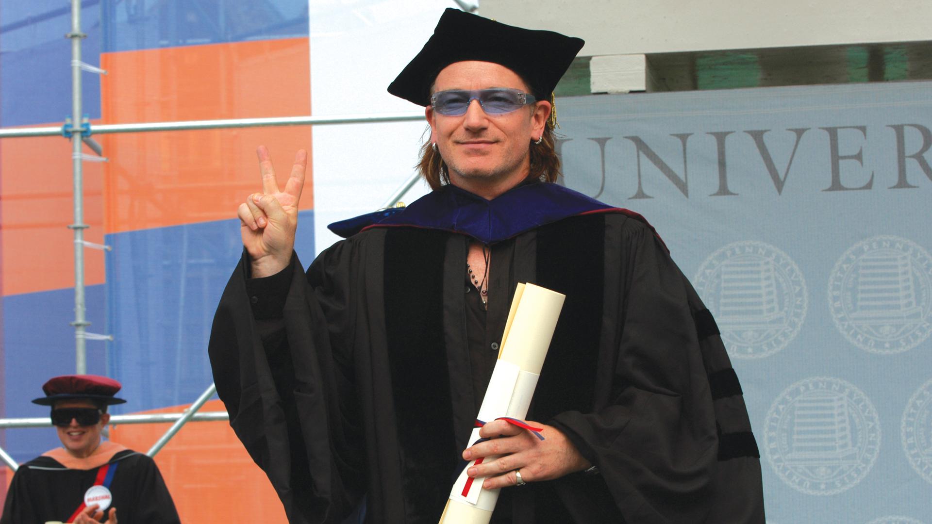 Bono Commencement Speech University of Pennsylvania Video Production
