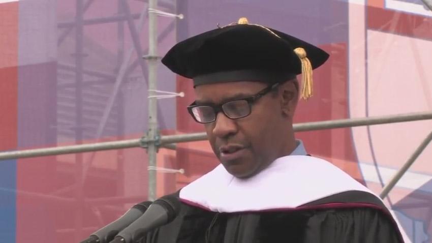 Denzel Washington Commencement Speech University of Pennsylvania Video Production