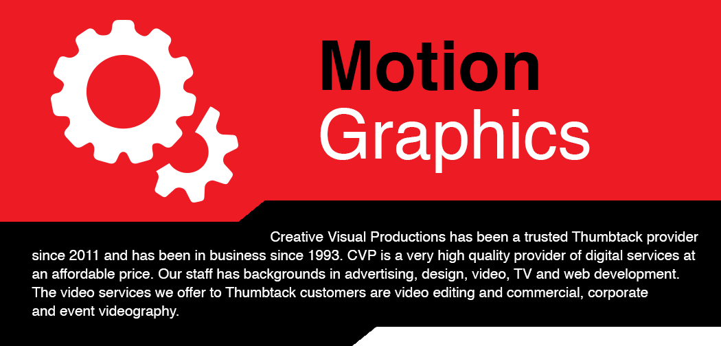 Motion Graphic Video Production in South Jersey