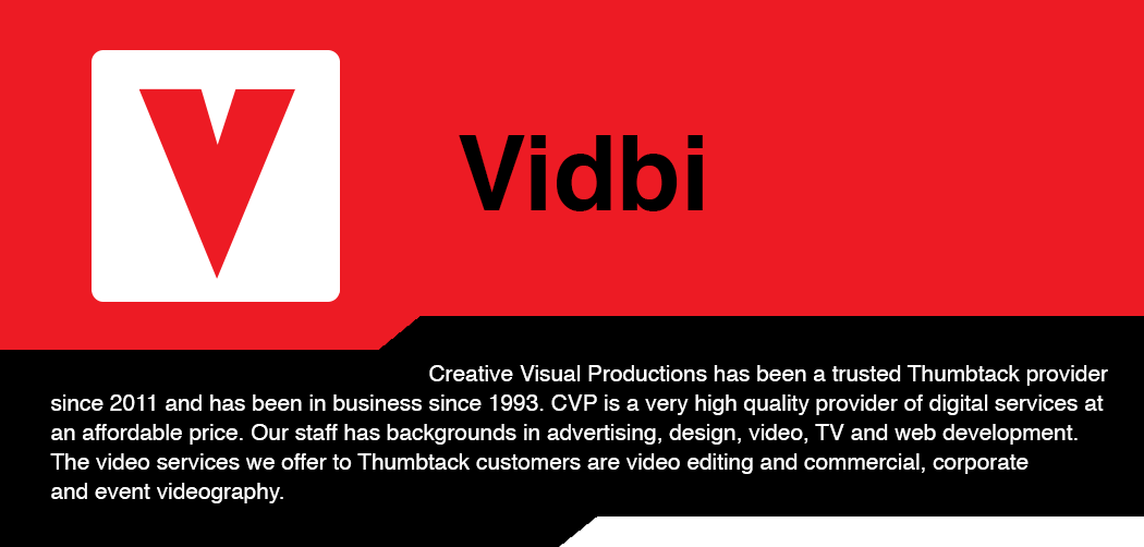 Vidbi - Your Video Business Card