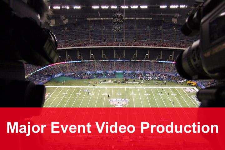 major event video production