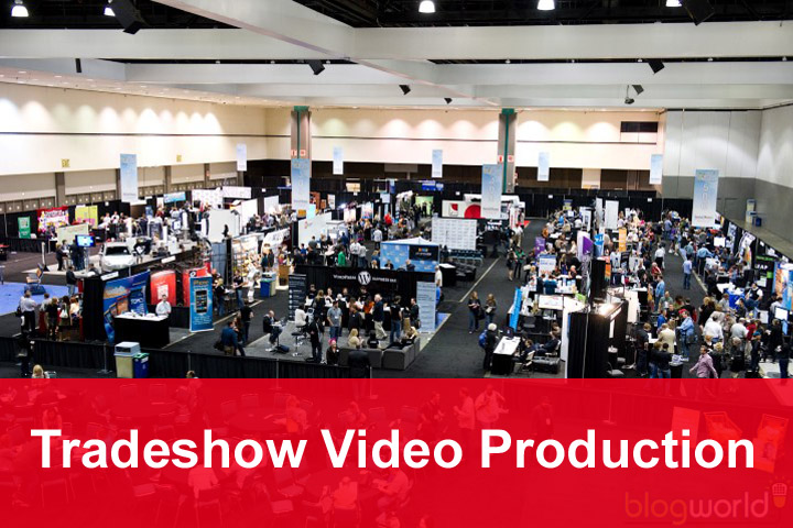 tradeshow and large event video production
