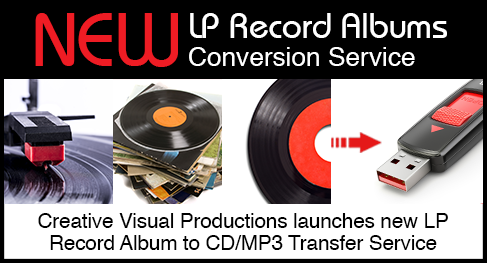 lp record conversion services