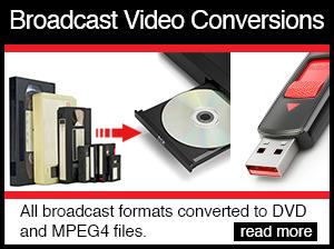 broadcast video conversions