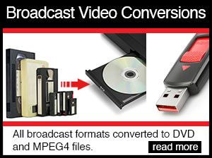 broadcast video conversions