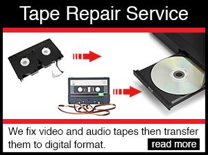 tape repair services