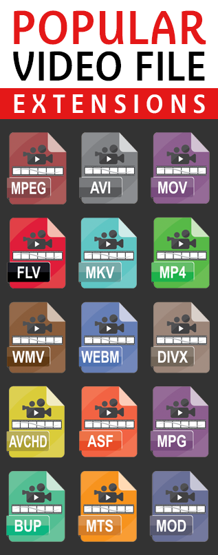 popular file extensions for broadcast video conversion services in south jersey and philly