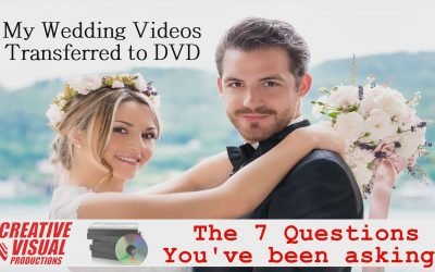 My Wedding Videos Transferred to DVD: Videotape Conversion Service