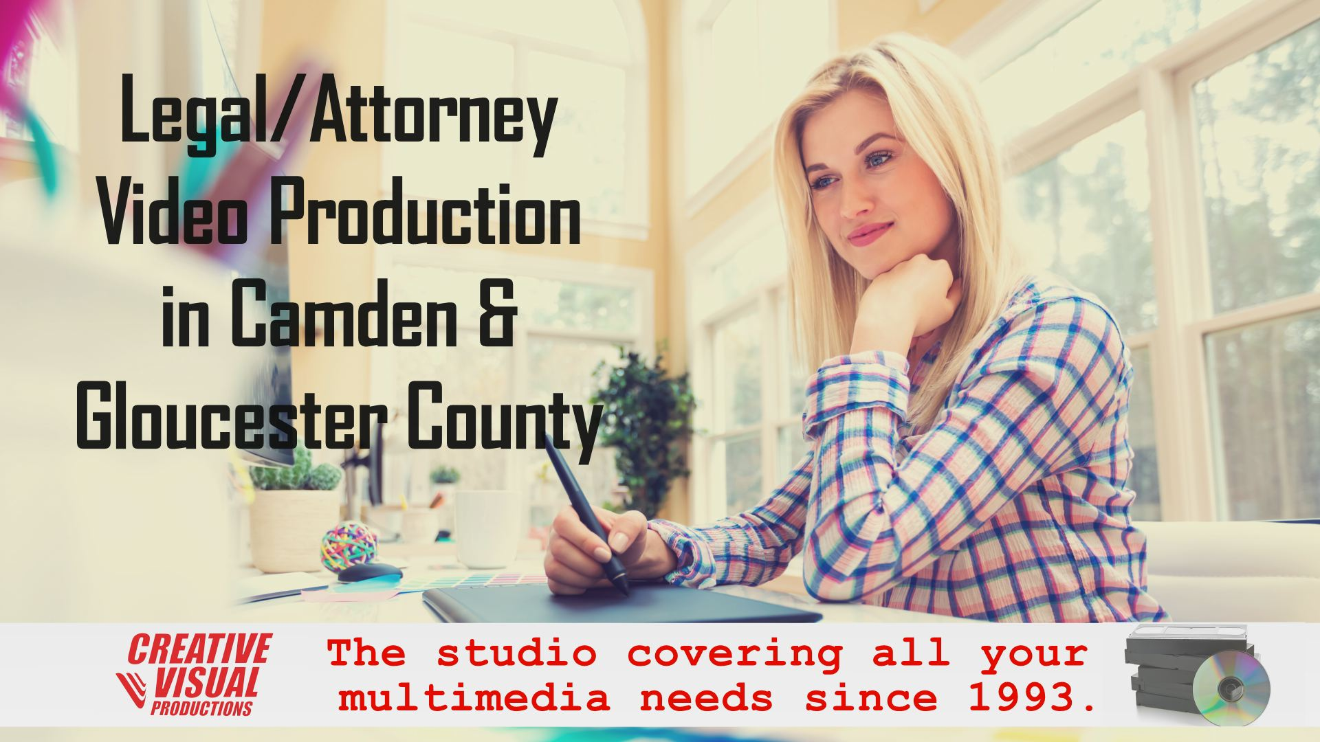 legal attorney video production in Camden Gloucester County
